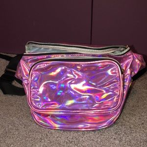 Pink Iridescent Fanny Pack